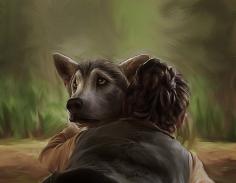 http://daaria.deviantart.com/art/Game-of-Thrones-Nymeria-214026143