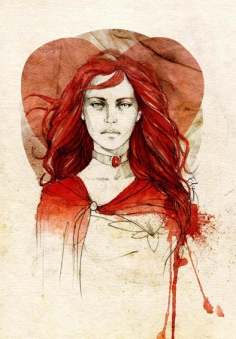 http://elia-illustration.deviantart.com/art/Melisandre-of-Asshai-266732415