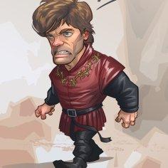 http://patrickbrown.deviantart.com/art/Tyrion-Lannister-Game-of-Thrones-379578106